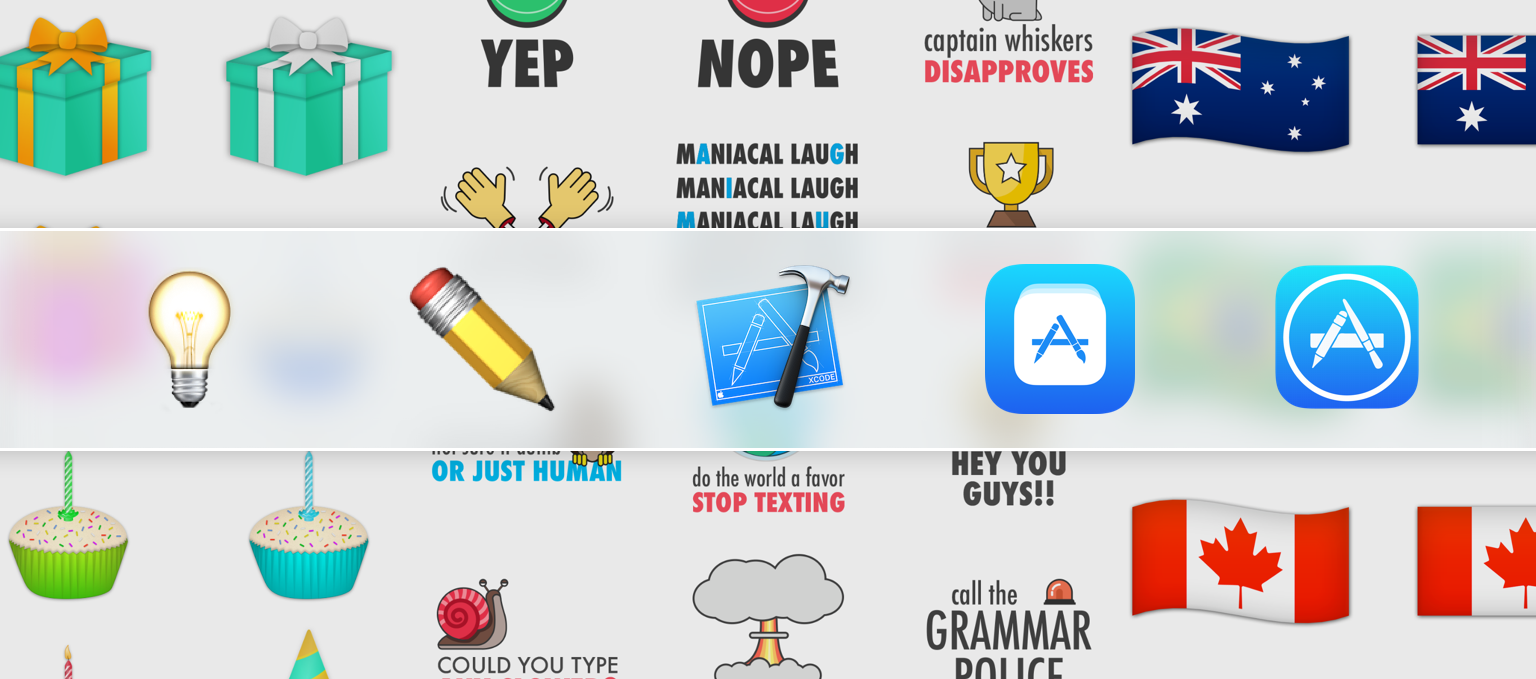 Macstories guide design and launch your own imessage sticker pack on the app store