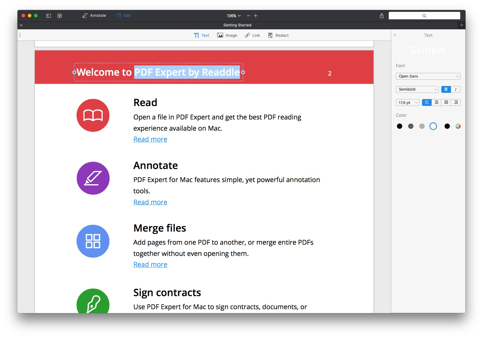 PDF Expert 2 For Mac Adds Powerful Editing Features